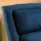 Monica Dark Blue Fabric Recliner