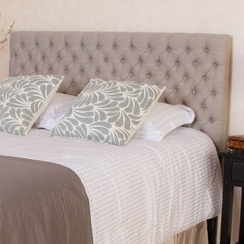 Denise Austin Home Cannes Adjustable King/California King Fabric Headboard