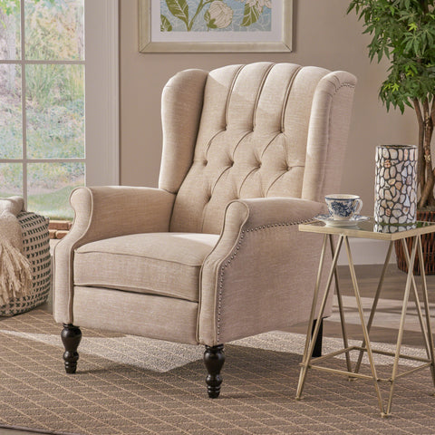 Elizabeth Tufted Back Recliner