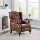 Temzyl Contemporary Tufted Recliner