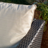 Caspian 4pc Outdoor Wicker Sofa Set