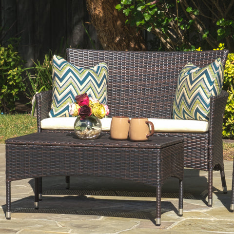 Ines Multi-Brown 2 Piece Outdoor Set