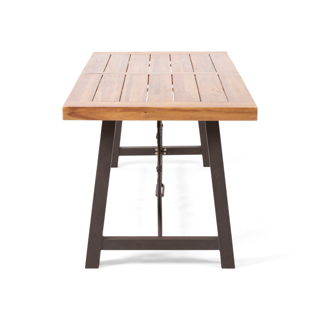 Rosario Modern Industrial Dining Table