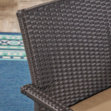 Otto Outdoor Wicker Club Chair