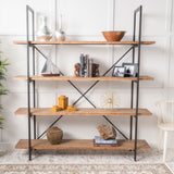 Elizabeth Antique Firwood and Iron Bookcase