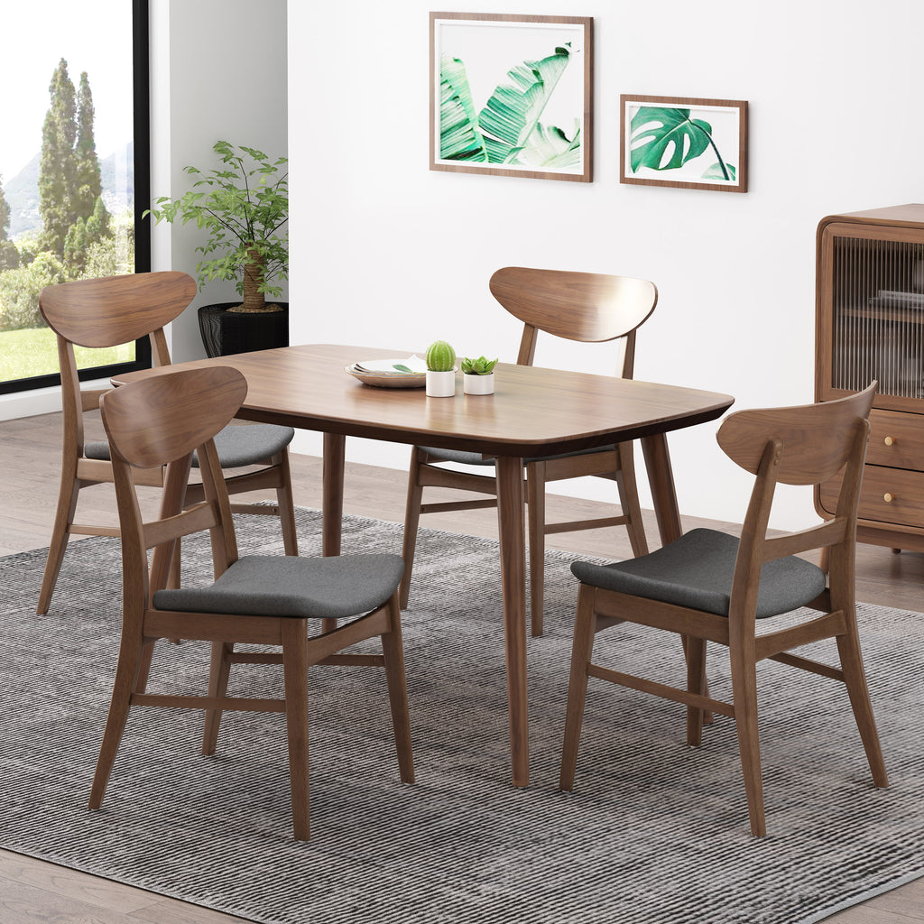 Isador Mid Century Modern Dining Chairs Set of 9