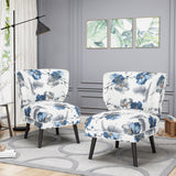 Dumont Modern Farmhouse Accent Chairs (Set of 2)