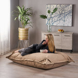 Taven Indoor Water Resistant 5.5X4 Lounger Bean Bag