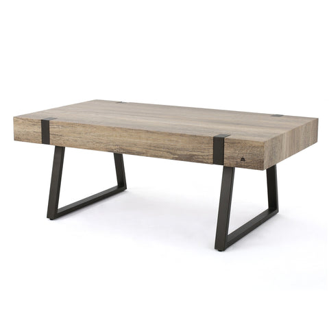 Genwa Canyon Grey Wood Coffee Table