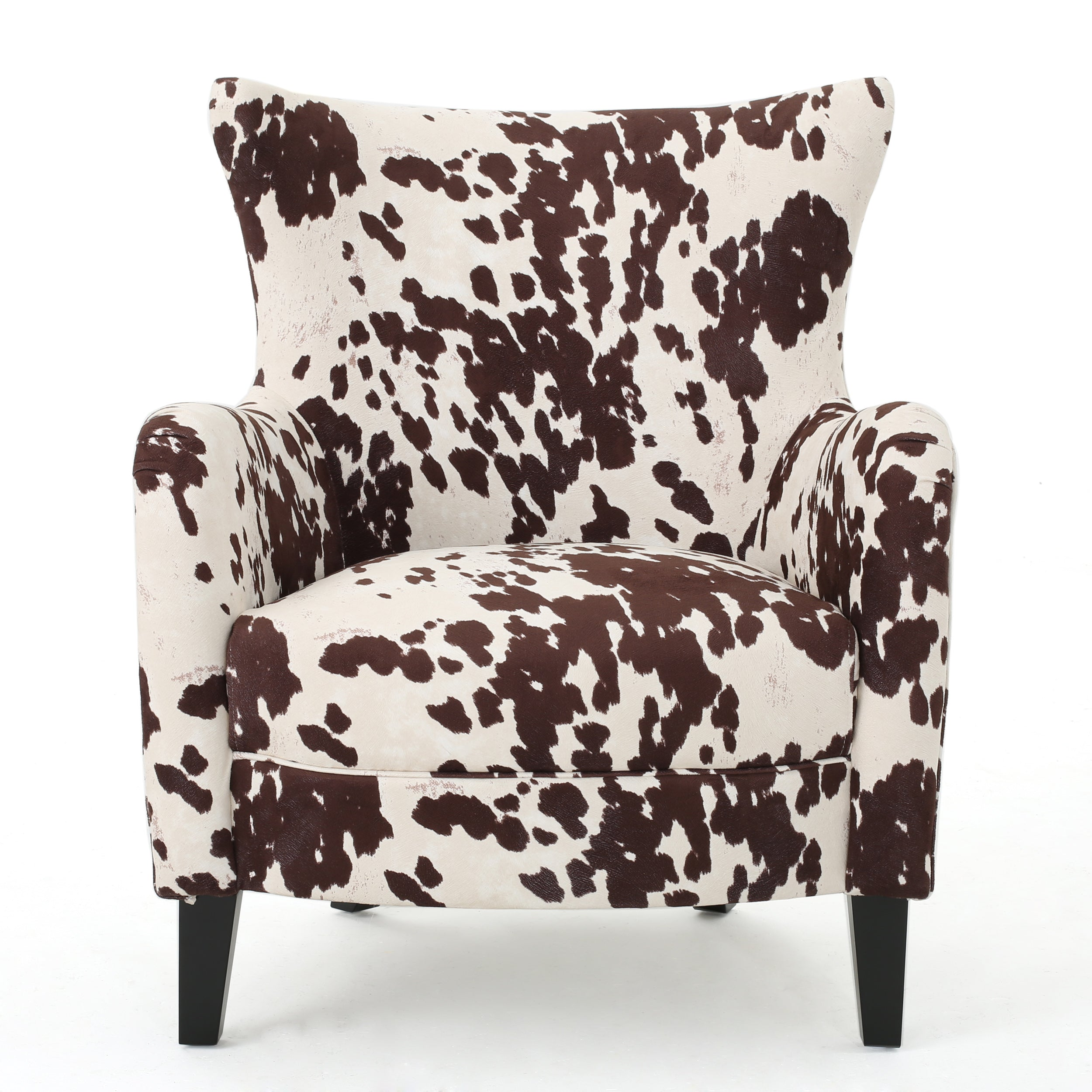 Analy Classic Milk Cow New Velvet Club Chair Default Title