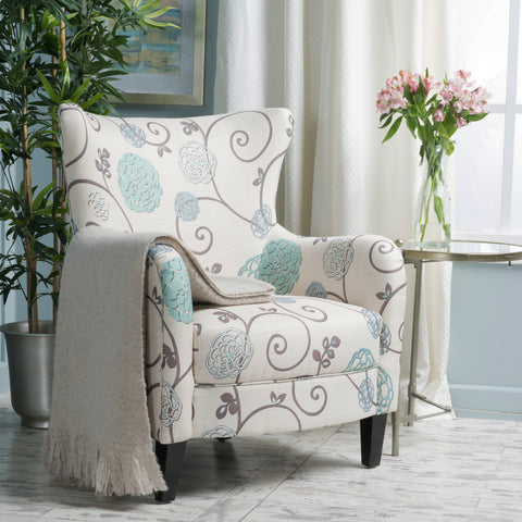 Venette Fabric Club Arm Chair