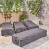 Ann Outdoor Waterproof Chaise Lounge Cover