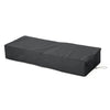 Ann Outdoor Waterproof Chaise Lounge Cover, Gray