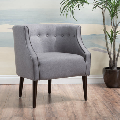 Davidson Tub Design Upholstered Accent Chair