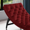 Grasby Tufted New Velvet Chaise Lounge