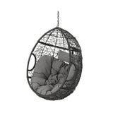 Yosiyah Indoor/Outdoor Hanging Teardrop / Egg Chair (Stand Not Included)