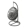 Kyle Outdoor Wicker Hanging Teardrop / Egg Chair