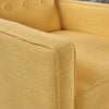 Mason Mid-Century Modern Tufted Back Fabric Recliner