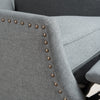 Weyland Wingback Fabric Recliner