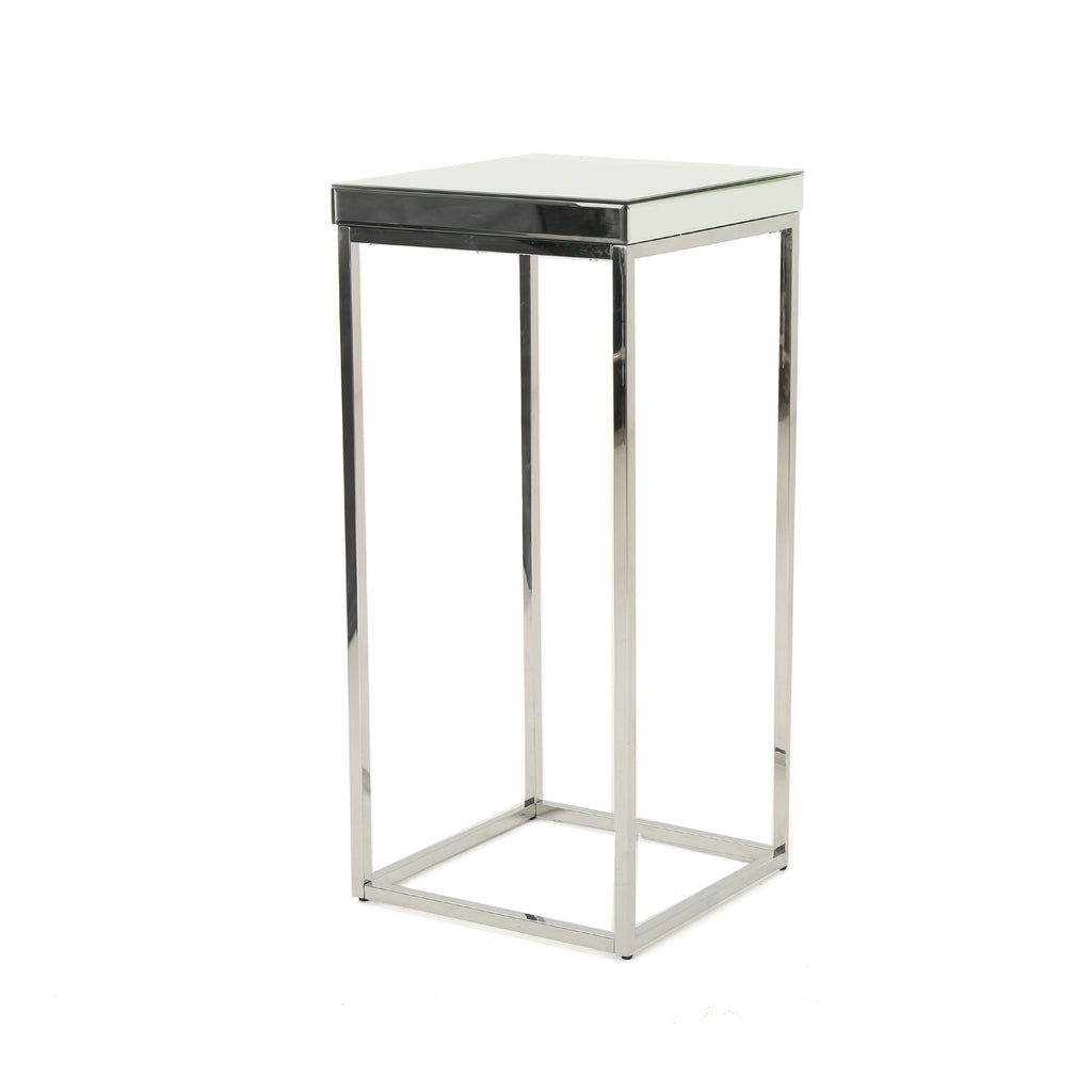 Calioppe Modern Minimalist Design Mirrored Side Table