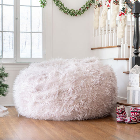 Lycus Faux Fur Bean Bag Chair