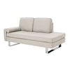 Typhaine Modern Fabric Chaise Lounge