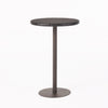 Domicca Outdoor 26 Inch Multi-brown Wicker Round Bar Table
