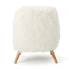 Soho Shaggy Faux Fur Accent Chair
