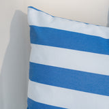 Coronado Outdoor Stripe Water Resistant Square Throw Pillow