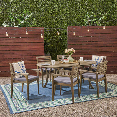 Alma 6-Seater Outdoor Dining Set