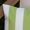 Coronado Outdoor Stripe Water Resistant Rectangular Throw Pillow
