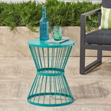 Fern Outdoor 16 Inch Iron Side Table