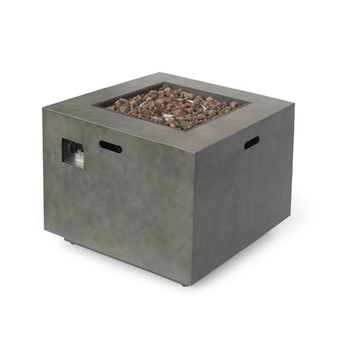 Jefferson Outdoor 33-Inch Square Fire Pit