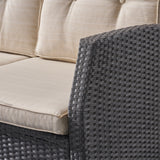Amigo Outdoor 3 Seater Wicker Sofa