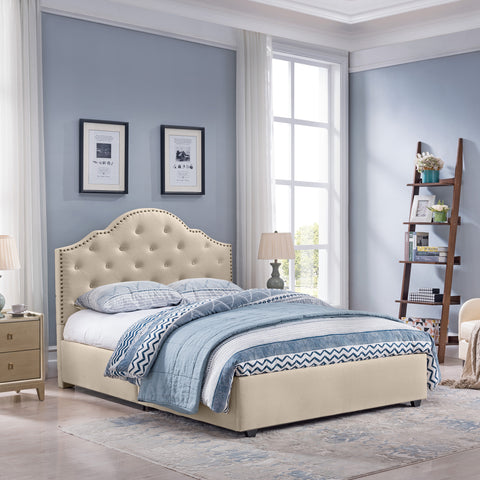 Gentry Queen-Size Bed Frame