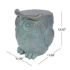 Brock Owl Garden Stool