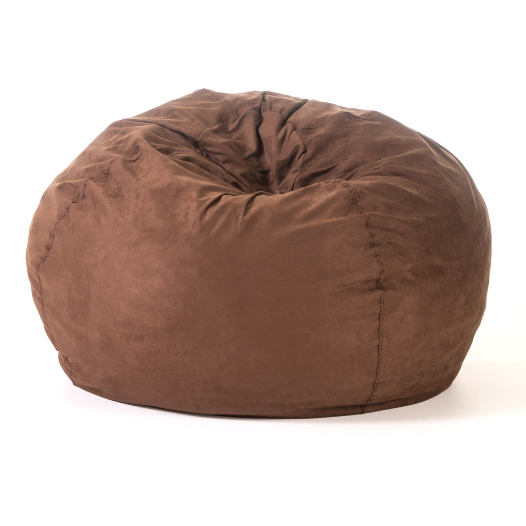 Violetta Traditional 5 Foot Suede Bean Bag (Cover Only)