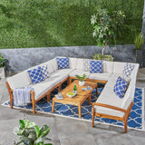 Roy 10-Piece Outdoor Sectional Sofa Set