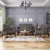 Taya 4-Piece Mid-Century Modern Chat Set