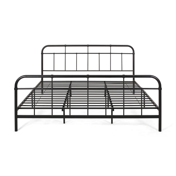 Belle Industrial Iron Bed Frame