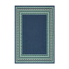 Darleen Outdoor Border Area Rug