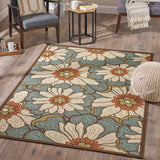 Ian Indoor Floral  Area Rug