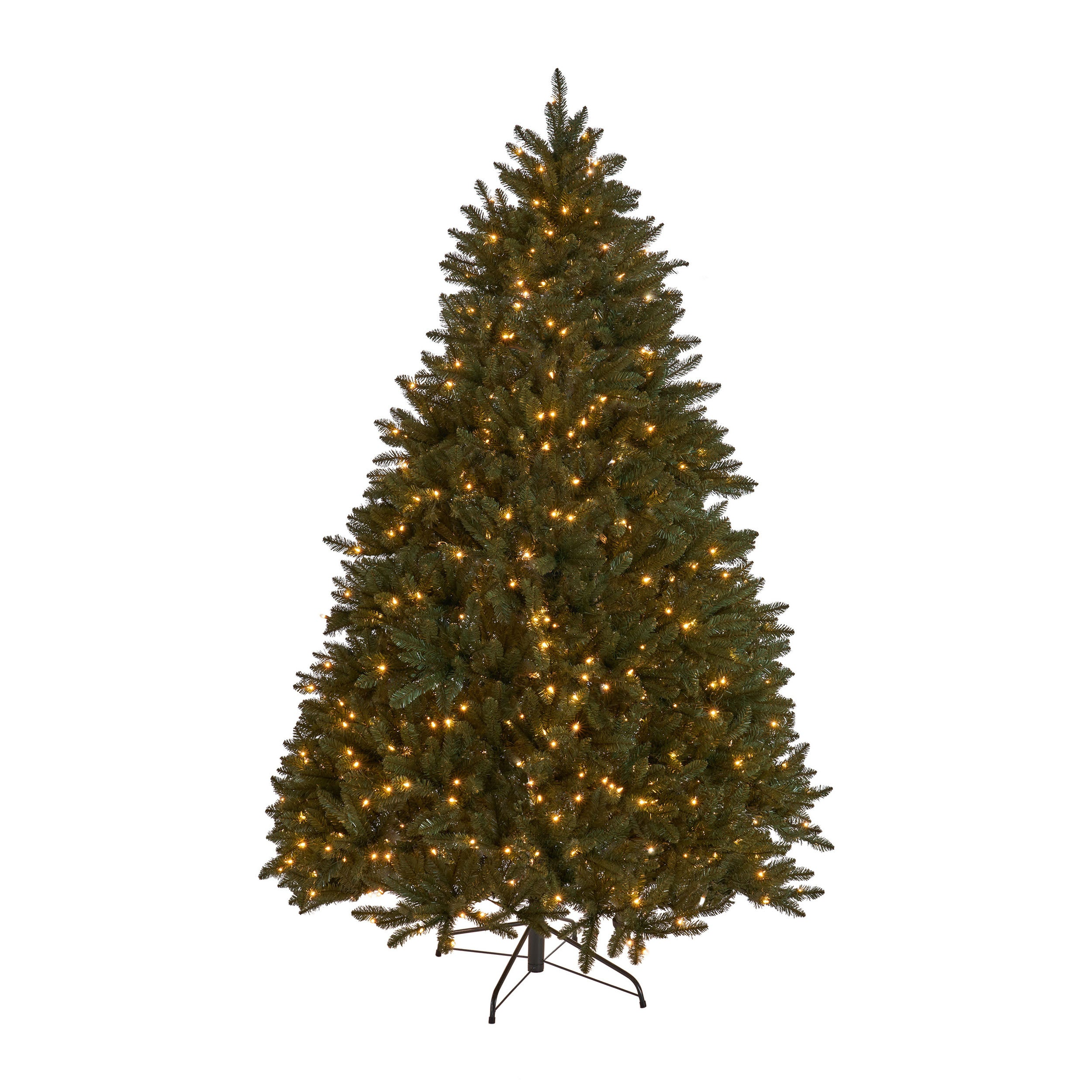 75 foot Norway Spruce Hinged Artificial Christmas Tree Lightless