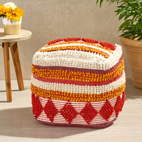 Annabelle Outdoor Cube Pouf