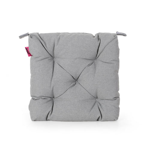 Beverly Indoor Fabric Classic Tufted Chair Cushion