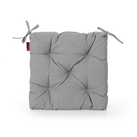 Sylvia Indoor Fabric Classic Tufted Chair Cushion