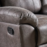 Nora Glider Recliner, Pillow Top Arms, Traditional