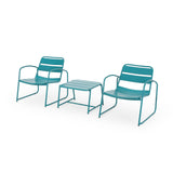 Daryah Outdoor Modern 2 Seater Chat Set