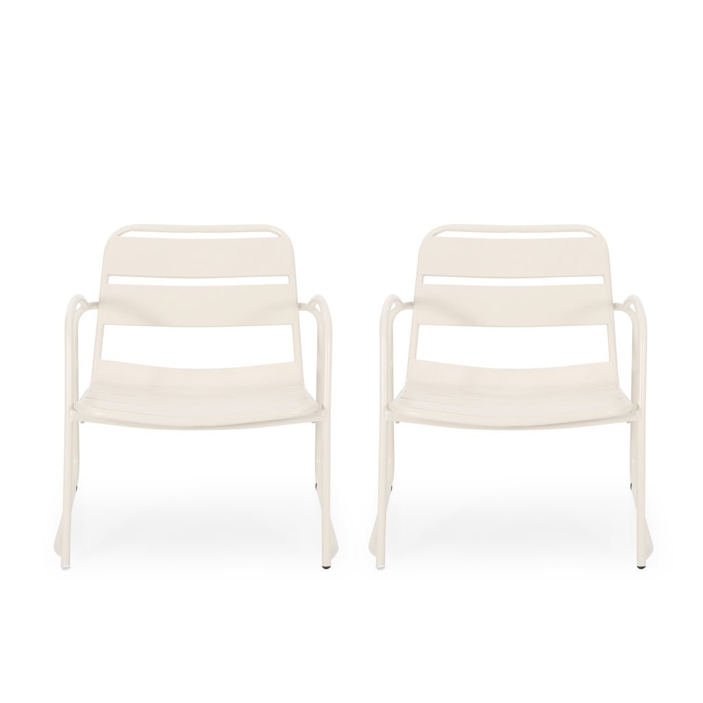 Daryah Outdoor Dining Chair (Set of 2)
