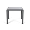 Cherie Coral Outdoor Aluminum Side Table (Set of 2)